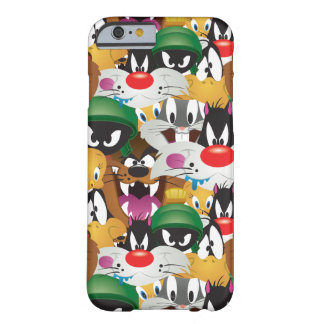 LOONEY TUNES™ Emoji Pattern Barely There iPhone 6 Case