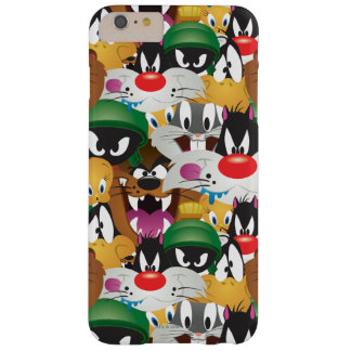 LOONEY TUNES™ Emoji Pattern Barely There iPhone 6 Plus Case