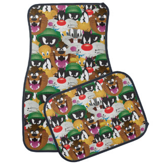 LOONEY TUNES™ Emoji Pattern Car Mat
