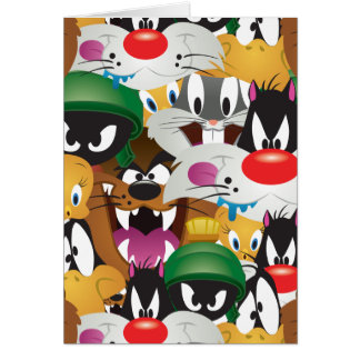 LOONEY TUNES™ Emoji Pattern Card