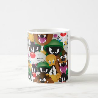 LOONEY TUNES™ Emoji Pattern Coffee Mug