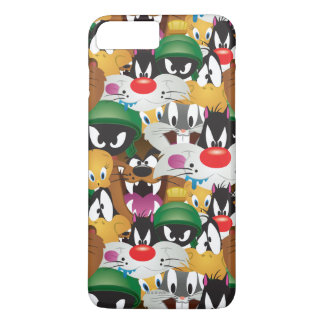 LOONEY TUNES™ Emoji Pattern iPhone 8 Plus/7 Plus Case