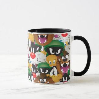 LOONEY TUNES™ Emoji Pattern Mug