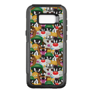 LOONEY TUNES™ Emoji Pattern OtterBox Commuter Samsung Galaxy S8+ Case
