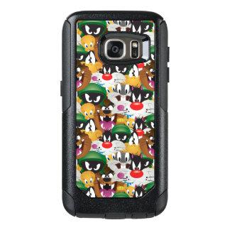 LOONEY TUNES™ Emoji Pattern OtterBox Samsung Galaxy S7 Case
