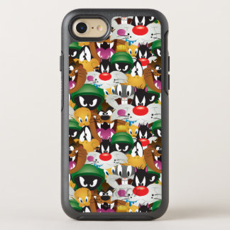 LOONEY TUNES™ Emoji Pattern OtterBox Symmetry iPhone 7 Case