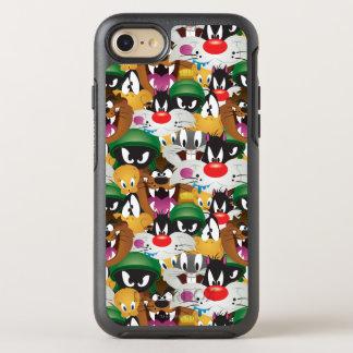 LOONEY TUNES™ Emoji Pattern OtterBox Symmetry iPhone 8/7 Case