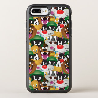 LOONEY TUNES™ Emoji Pattern OtterBox Symmetry iPhone 8 Plus/7 Plus Case