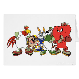 LOONEY TUNES™ Group Baseball Picture Greeting Card