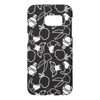 LOONEY TUNES™ Head Outlines Pattern Samsung Galaxy S7 Case