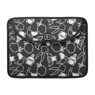 LOONEY TUNES™ Head Outlines Pattern Sleeve For MacBook Pro