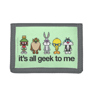 LOONEY TUNES™ Nerds - All Geek Trifold Wallets