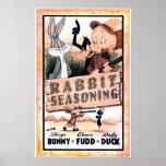 Looney Tunes Rabbit Seasoning Posters