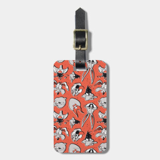 LOONEY TUNES™ Retro Halftone Pattern Bag Tag