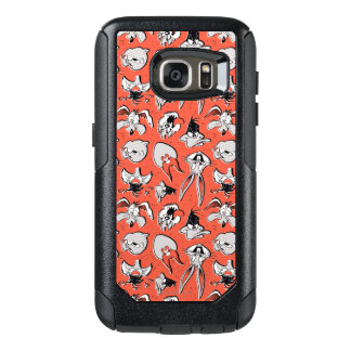 LOONEY TUNES™ Retro Halftone Pattern OtterBox Samsung Galaxy S7 Case