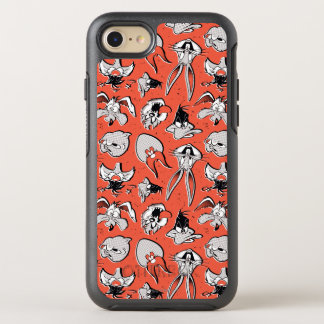 LOONEY TUNES™ Retro Halftone Pattern OtterBox Symmetry iPhone 8/7 Case
