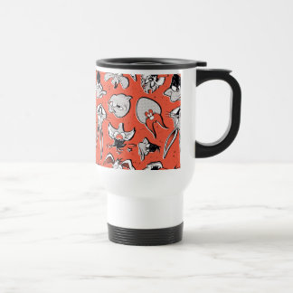 LOONEY TUNES™ Retro Halftone Pattern Travel Mug