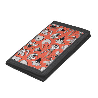 LOONEY TUNES™ Retro Halftone Pattern Trifold Wallet