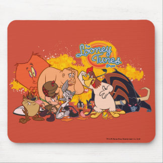 Looney Tunes Show Cast & Logo Mouse Pad