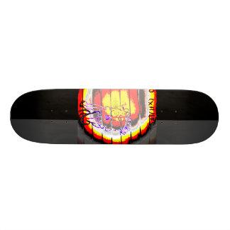 LooneySkull- Grunge: Umber Skateboards
