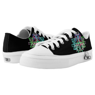 LooneySkull Symbols Low-Top Sneakers
