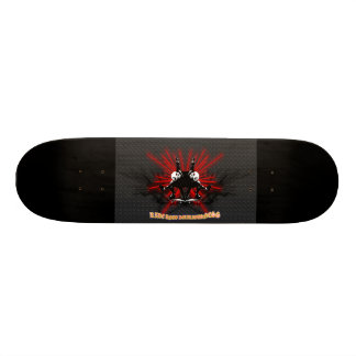 LooneySkullRUD: Uni-Skull Custom Skate Board