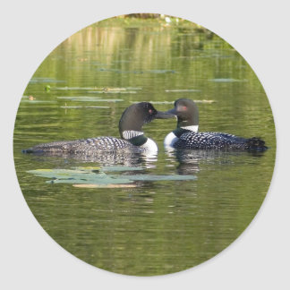 Loons Classic Round Sticker