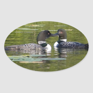 Loons Oval Sticker