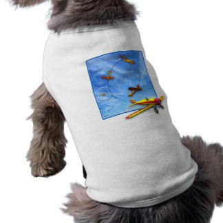 Loop Aerobatic maneuver with Airplane Shirt