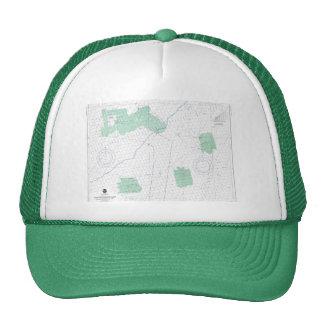 Loop Deepwater Port Louisiana Nautical Chart Hat