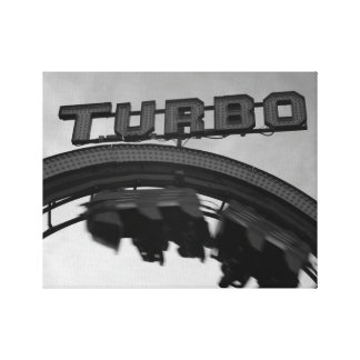 Loop the Loop Turbo Canvas Print