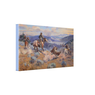 Loops and Swift Horses Are Surer Than Lead Canvas Print