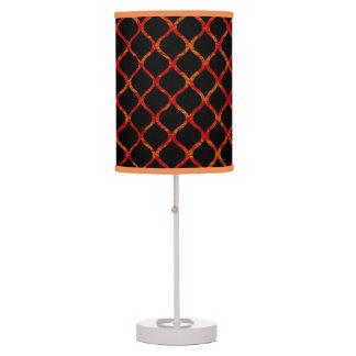 Loops Orange-dish Black Decorative Lamp Shades