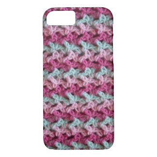 Loopy Love Crochet iPhone Case