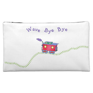 Loose Caboose Choo Choo Train Makeup Bag