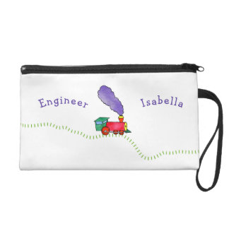 Loose Caboose Choo-Choo! Train Wristlet