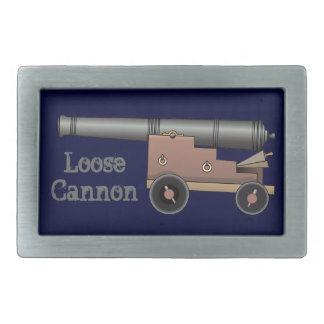 Loose Cannon Belt Buckles