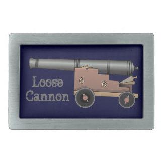 Loose Cannon Belt Buckles