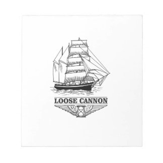 loose cannon boy notepad