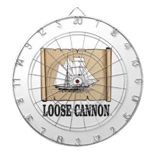 loose cannon dartboard