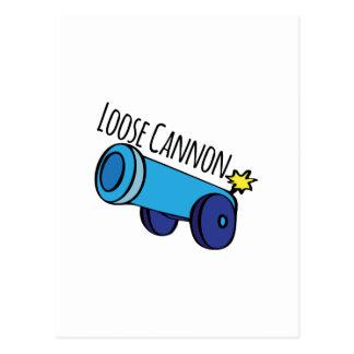 Loose Cannon Postcard