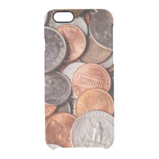 Loose Change Clear iPhone 6/6S Case