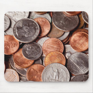 Loose Change Mouse Pad
