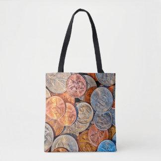 Loose Change Tote Bag