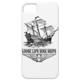 loose lips sink ships iPhone 5 cases