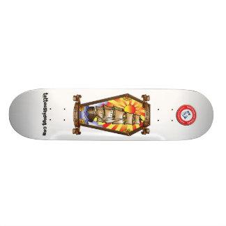 Loose lips sink ships skate board deck