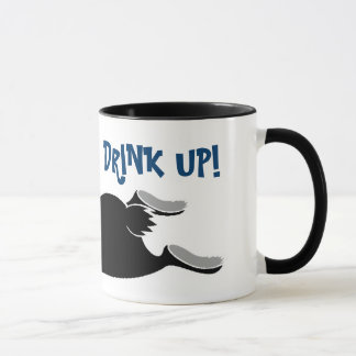 Lop ear black rabbit mug