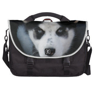 Lop Eared Siberian Husky Sled Dog Puppy Laptop Computer Bag