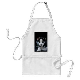 Lop Eared Siberian Husky Sled Dog Puppy Standard Apron