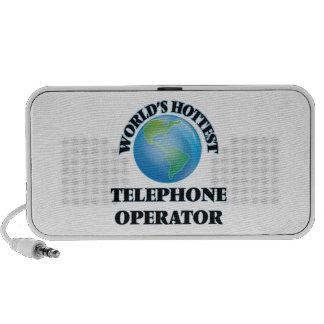 L'opérateur de téléphone le plus chaud du monde haut-parleur de voyage